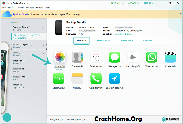 iPhone Backup Extractor Activation Code