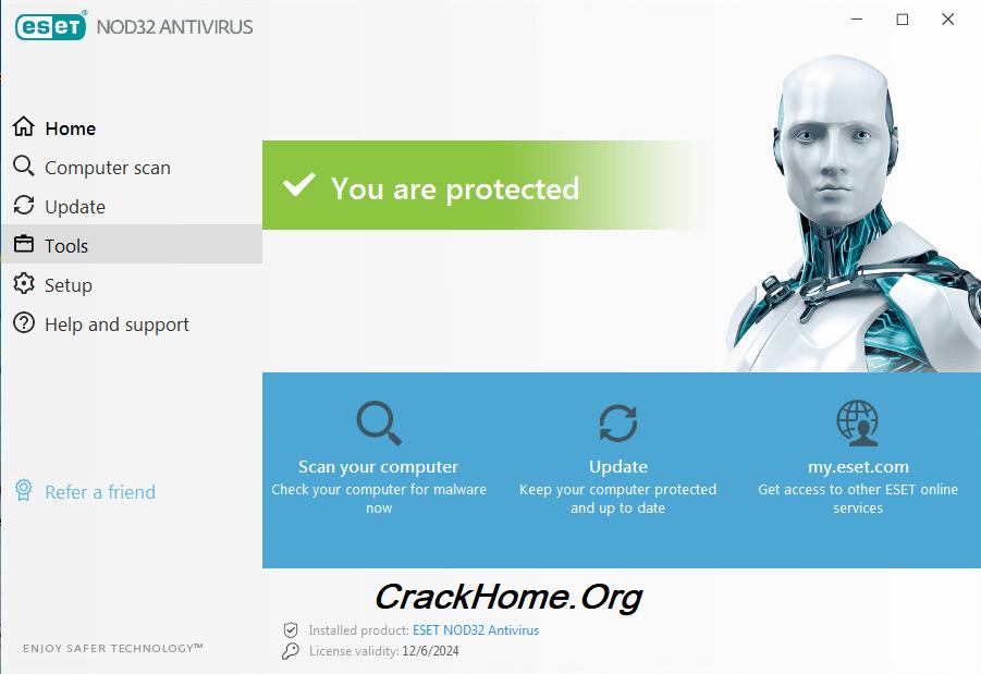 ESET NOD32 Antivirus License Key 2021