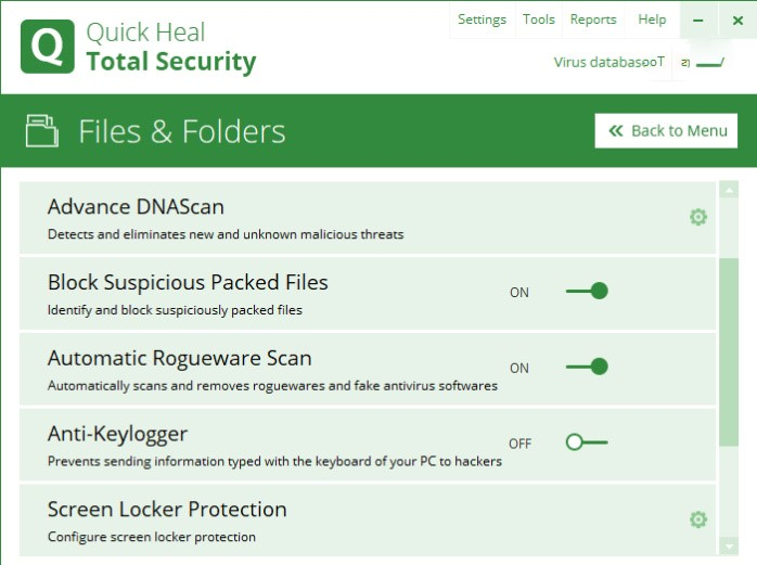 Quick Heal Total Security Activation Key