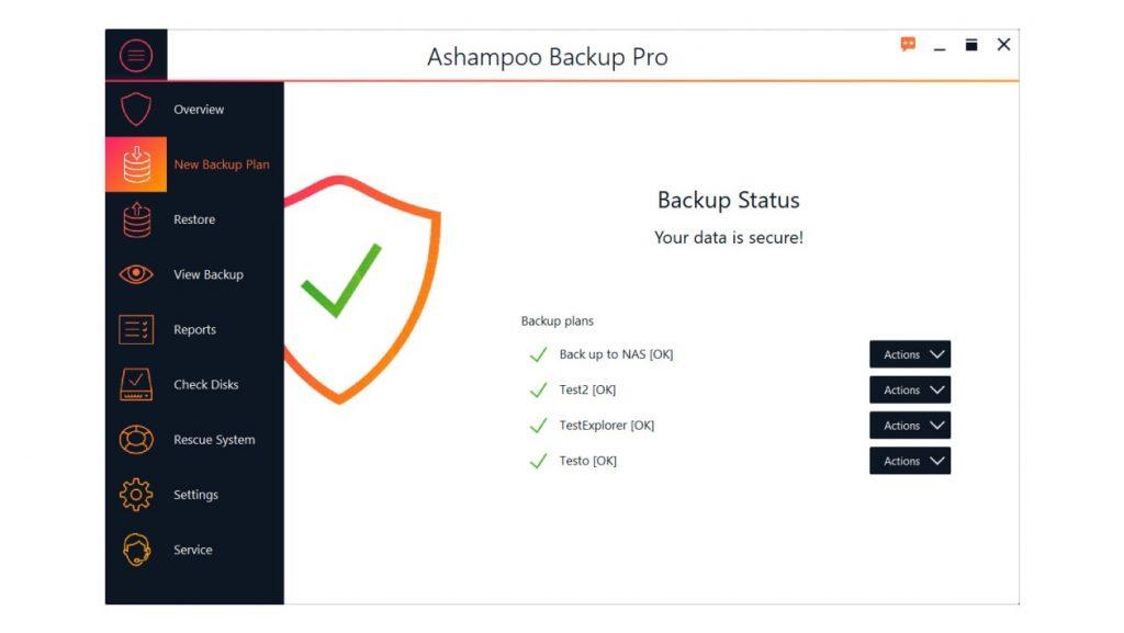 Ashampoo Backup Pro Activation Code