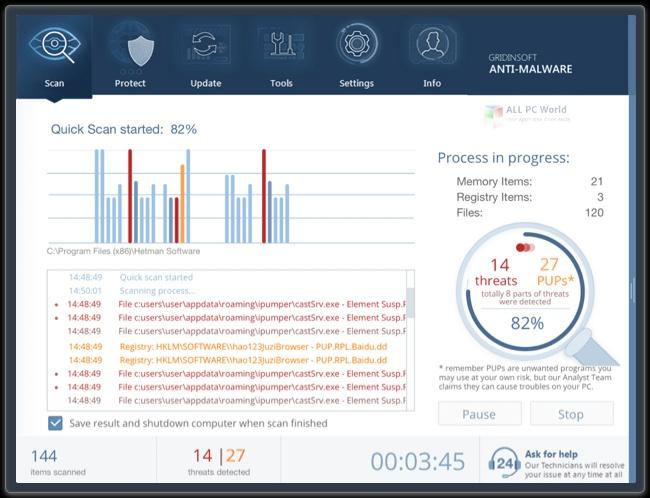 GridinSoft Anti-Malware Serial Key
